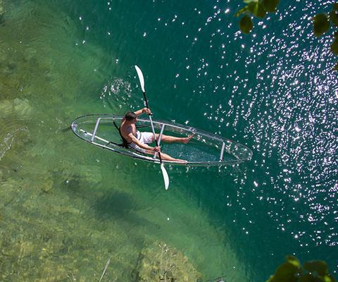 Exploration en kayak