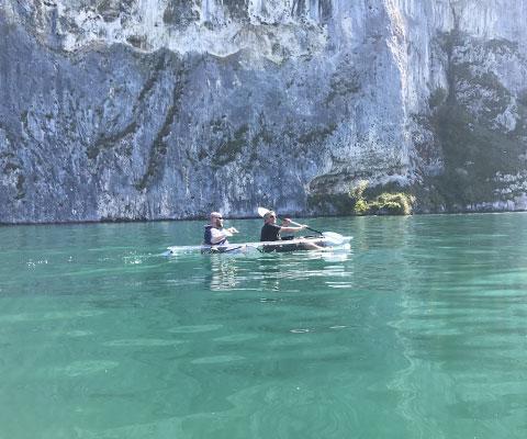 Kayak-duo
