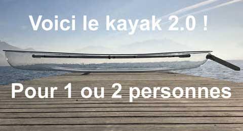 acheter kayak transparent; kayak fond transparent; kayak transparent à vendre
